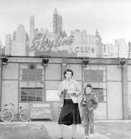 Skyline Club c 1955