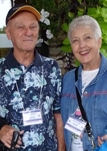 DSC00019 Jerry Keltz & Sarah Landis