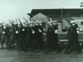 59th Air Police Sqn march-past
