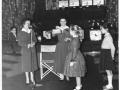Skyline Club, Burtonwood, Caged Bird Show, 23 November 1958, Helen Dorning, Service Club Director & Margaret Lloyd, Club Secretary