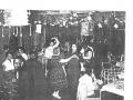 Skyline Club, Burtonwood, Hal & Eileen Walsh dancing in the Club, Hal was Service Club Director 1958