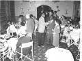 Skyline Club, Burtonwood, Jan 1957, California Night, Helen Dorning, Ass Club Director greeting guests
